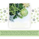 zakelijke kerstkaart groen