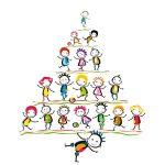zakelijke kerstkaart onderwijs