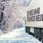 zakelijke kerstkaart transport