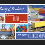 zakelijke kerstkaart logistiek