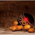 kerstkaart zakelijke hout