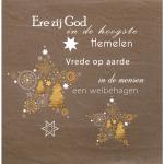 Christelijk kerstkaart