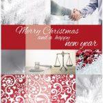 zakelijke kerstkaart advocaat