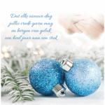 zakelijke kerstkaart zorg